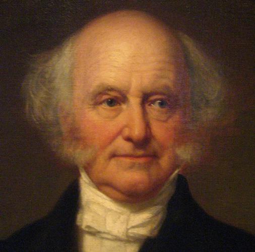 POTUS-08 Martin Van Buren * 1782-1862 * Hannah Hoes * BP